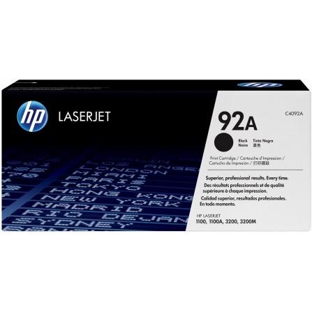 HP 92A C4092A / (black)