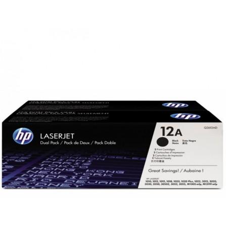HP 12A Q2612AD / (black)