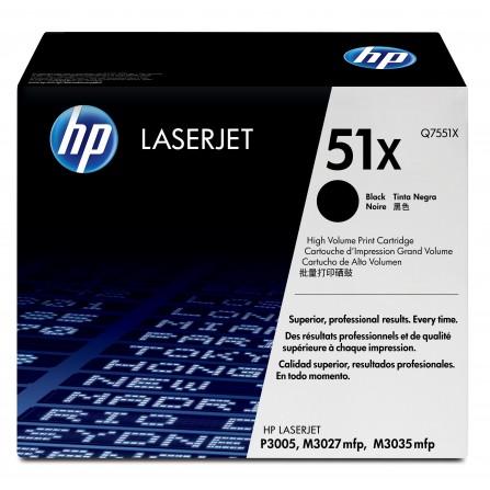 HP 51X Q7551X / (black)