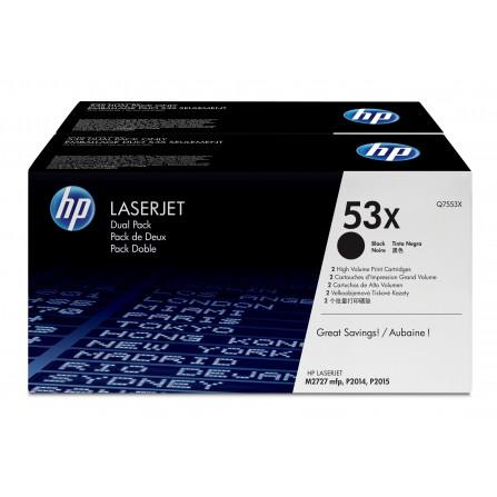 HP 53X Q7553XD / (black)