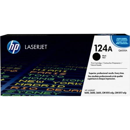 HP 124A Q6000A / (black)