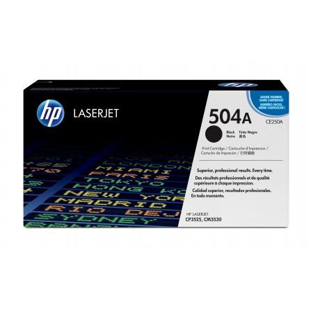 HP 504A CE250A / (black)