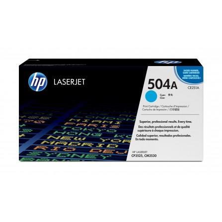 HP 504A CE251A / (cyan)