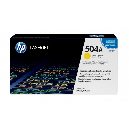 HP 504A CE252A / (yellow)
