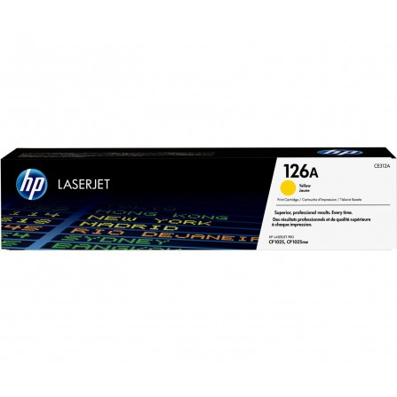 HP 126A CE312A / (yellow)