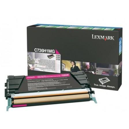 LEXMARK / C736H1MG (magenta)