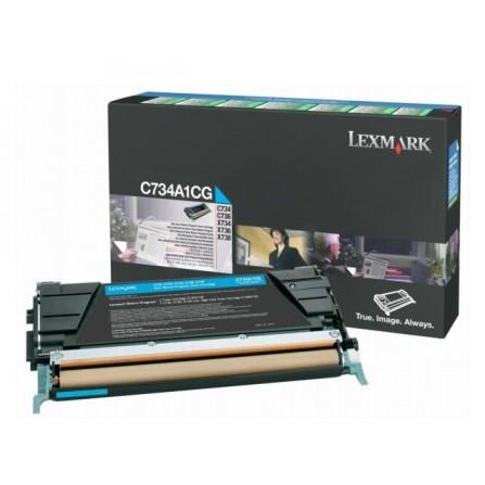 LEXMARK / C734A1CG (cyan)