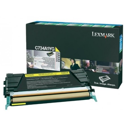 LEXMARK / C734A1YG (yellow)