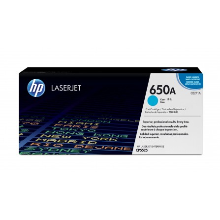 HP 650A CE271A / (cyan)