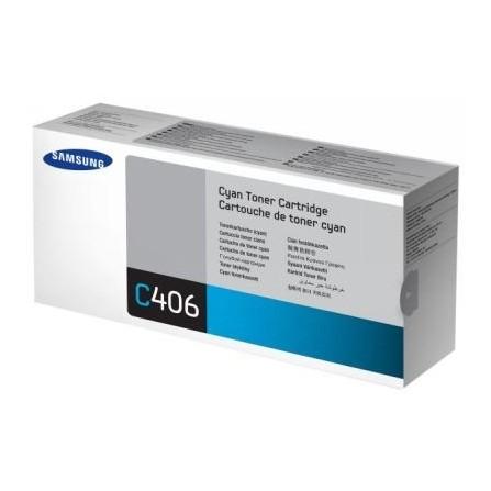 Toner Samsung CLT-C406S niebieski