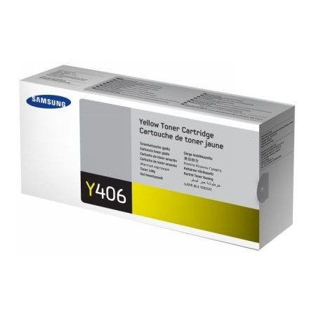 Toner Samsung CLT-Y406S żółty