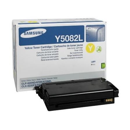 Toner Samsung CLT-Y5082L żółty