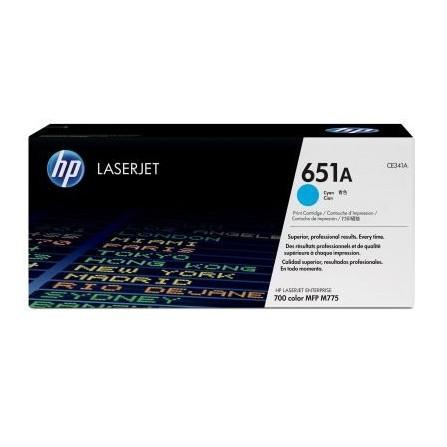 HP 651A CE341A / (cyan)