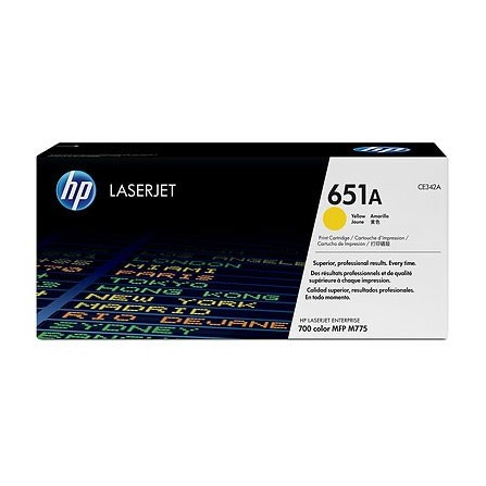 HP 651A CE342A / (yellow)