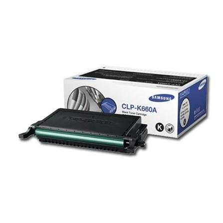 Toner Samsung CLP-K660A czarny