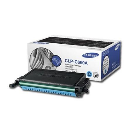 Toner Samsung CLP-C660A niebieski
