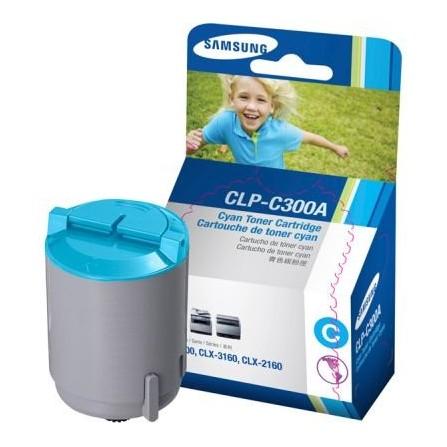 Toner Samsung CLP-C300A niebieski