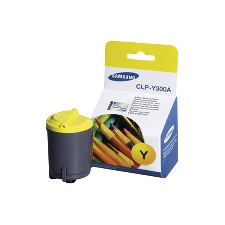 Toner Samsung CLP-Y300A żółty