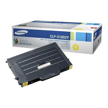 Toner Samsung CLP-510D2Y żółty