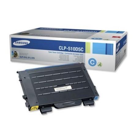 Toner Samsung CLP-510D5C niebieski