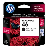 HP 46 CZ637AE / (black)