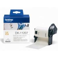 BROTHER DK-11207 / DK11207 (white)