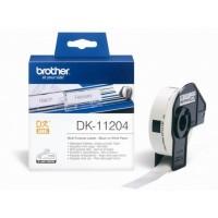 BROTHER DK-11204 / DK11204 (white)