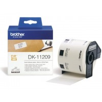 BROTHER DK-11209 / DK11209 (white)