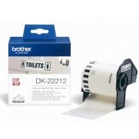 BROTHER DK-22212 / DK22212 (black on white)