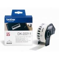 BROTHER DK-22211 / DK22211 (black on white)
