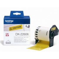 BROTHER DK-22606 / DK22606 (yellow)