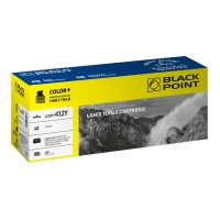 BLACK POINT LCBPH412Y / CE412A (yellow)